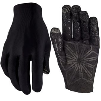 Supacaz SupaG Long Finger Gloves Blackout