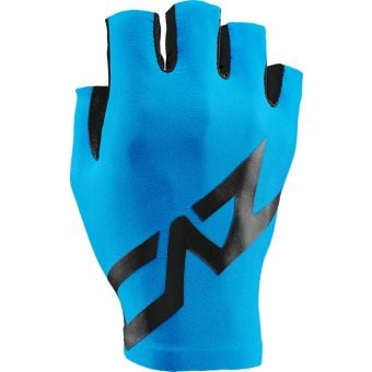 Supacaz SupaG Short Finger Gloves Black/Neon Blue