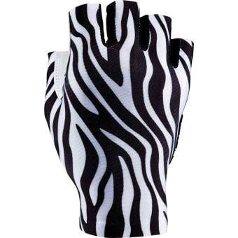 Supacaz SupaG Short Finger Gloves Limited Zebra