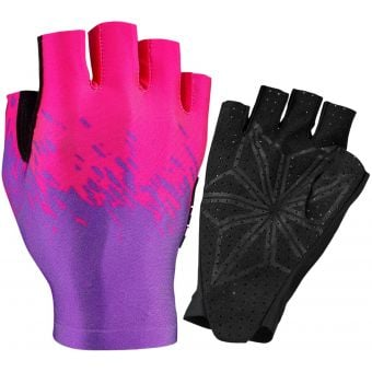 Supacaz SupaG Short Finger Gloves Neon Purple/Pink