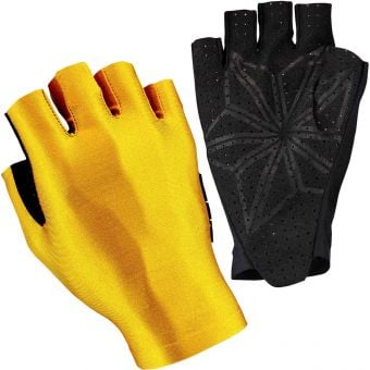 Supacaz SupaG Short Finger Gloves Splash Gold