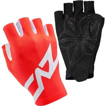 Supacaz SupaG Short Finger Gloves Twisted Neon Red