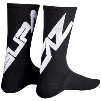 Supacaz SupaSox Twisted Socks Black/White 2020