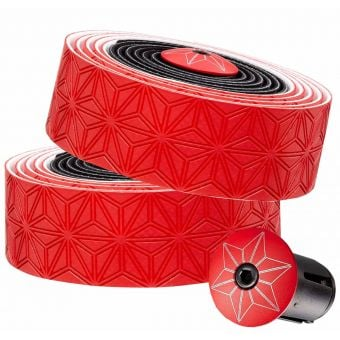 Supacaz Super Sticky Kush Bar Tape Black/Red