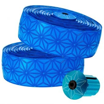 Supacaz Super Sticky Kush Bar Tape Neon Blue