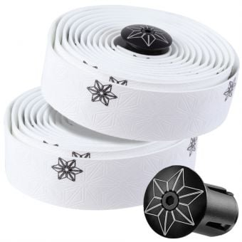 Supacaz Super Sticky Kush Galaxy Bar Tape White/Black
