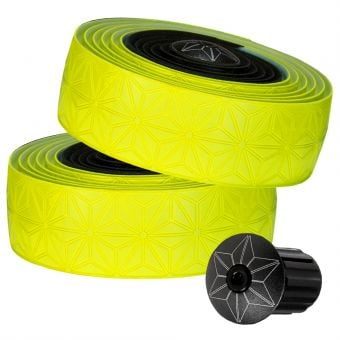 Supacaz Super Sticky Kush Star Fade Bar Tape Neon Yellow