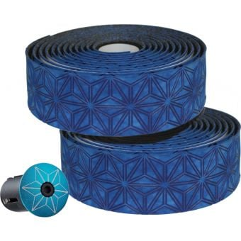 Supacaz Super Sticky Kush Velvet Bar Tape Blue
