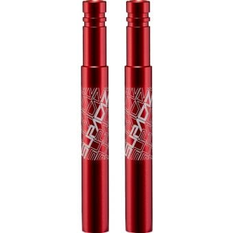 Supacaz Valve Extenderz 85mm Red
