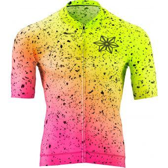Supacaz x Nalini Scorch Jersey Neon Yellow/Pink