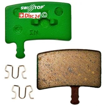 SwissStop Disc 24 Organic MTB Brake Pads for Hayes Stroker Trail