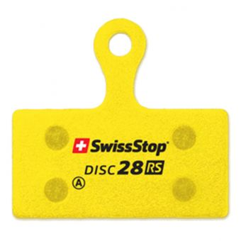 SwissStop Disc 28 RS Organic Brake Pads for Shimano XTR/XT/SLX