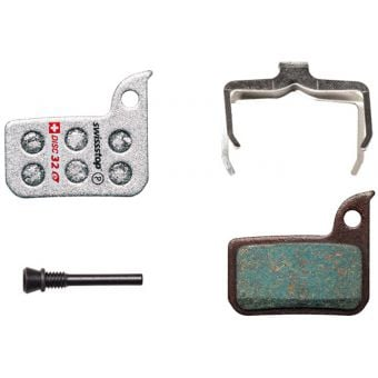 SwissStop Disc 32E SRAM HRD, eTap HRD, Level Ultimate, TLM Organic Brake Pads
