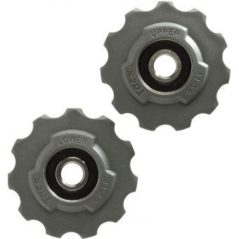 Tacx SRAM Race Stainless Bearing Derailleur Jockey Wheels Grey