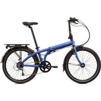 "Tern Node D8 Uni Size Frame 24"" Wheel Folding Commuter Bike Black/Blue"