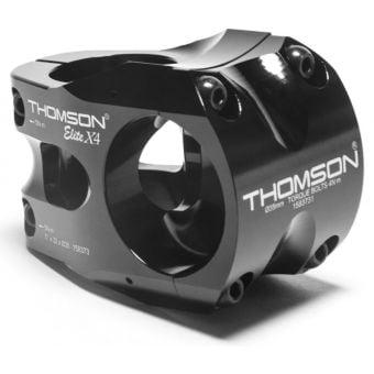 """Thomson Elite X4 DH 40 x 31.8mm 0° 1-1/8"""" MTB Stem Black"""