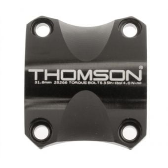 Thomson X4 31.8mm Replacement Face Plate Black