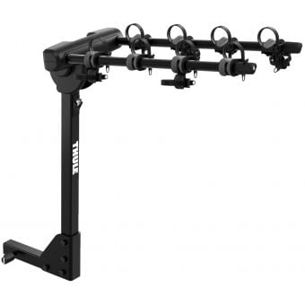 Thule 9057 Range RV Hanging Hitch Rack 4 Bike Carrier Black
