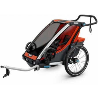 Thule Chariot Cross Child Trailer Roarange/Dark Shadow