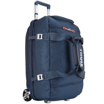 Thule Crossover 56L Rolling Duffle Bag Blue
