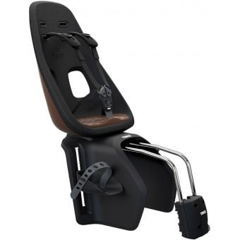 Thule Yepp Nexxt Maxi Frame Mounted Rear Child Seat Chocolate Brown