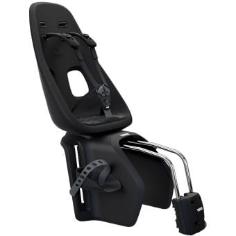 Thule Yepp Nexxt Maxi Frame Mounted Rear Child Seat Obsidian Black