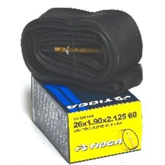 Tioga 26x1.9/2.125 60mm Presta Valve MTB Tube