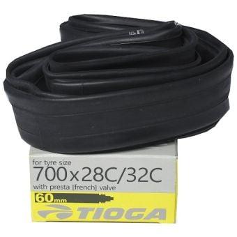 Tioga Butyl 700x28C/32C 60mm Presta Valve Tube
