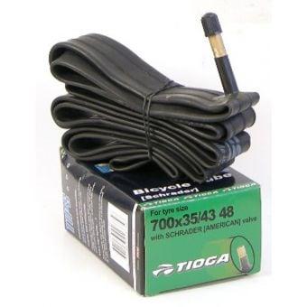 Tioga Butyl 700x35C 48mm Schrader Valve Road Tube