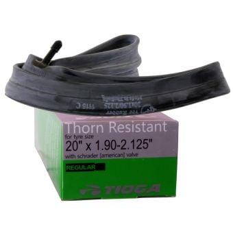 Tioga Thorn Resistant 20x2.125 Schrader Valve BMX Tube