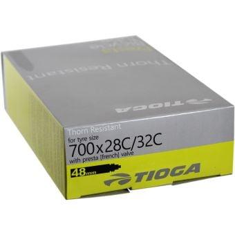 Tioga Thorn Resistant 700x28C 40mm Presta Valve Road Tube