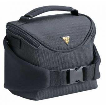 Topeak Compact Handlebar Bag with Raincover Black