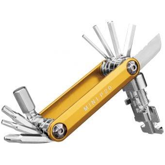 Topeak Mini P20 Multi-Tool Gold