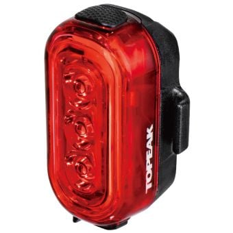 Topeak Taillux 100lm USB Rechargeable Rear Light Red/Black