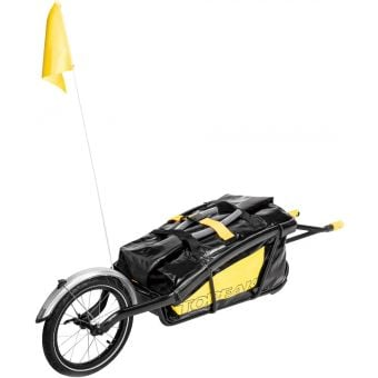 Topeak TX Journey Trailer and Drybag Black/Yellow