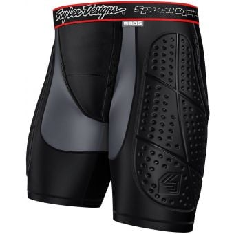 Troy Lee Designs 5605 Protective Shorts Black