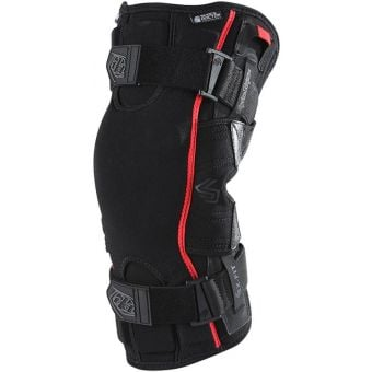 Troy Lee Designs 6400 Knee Brace Black Pair