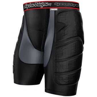Troy Lee Designs 7605 Protective Shorts Black