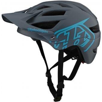 Troy Lee Designs A1 Drone MTB Helmet Grey/Blue