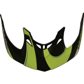 Troy Lee Designs A1 Helmet Replacement Visor Welter Black/Green