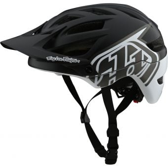 Troy Lee Designs A1 MIPS Helmet Classic Black/White