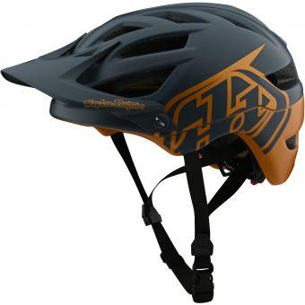 Troy Lee Designs A1 MIPS Helmet Classic Grey/Gold