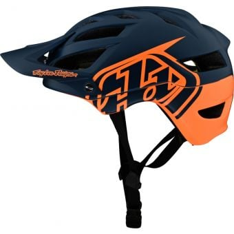 Troy Lee Designs A1 MIPS MTB Helmet Classic Tangelo/Marine