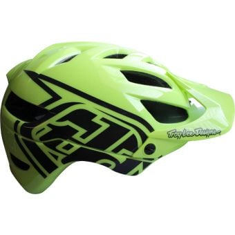 Troy Lee Designs A1 MIPS Youth MTB Helmet Drone Glo Green One Size