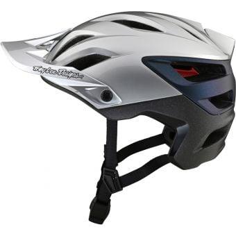 Troy Lee Designs A3 MIPS Open Face MTB Helmet Uno Silver/Electro