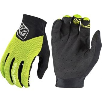 Troy Lee Designs Ace 2.0 Gloves FLO Yellow/Black 2020