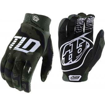 Troy Lee Designs Air Gloves Camo Green/Black 2021