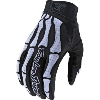 Troy Lee Designs Air Gloves Skully Black 2020