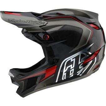 Troy Lee Designs D4 Carbon MIPS Full Face Helmet Exile Grey