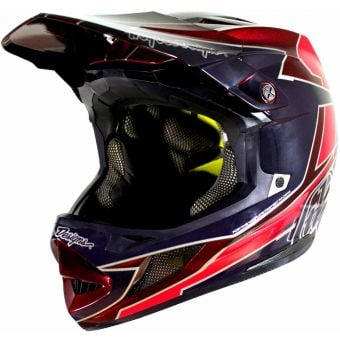 Troy Lee Designs D4 Composite MIPS Full Face Helmet Graph Red